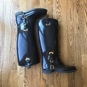 Ralph Lauren Odette Rain Boot Brown